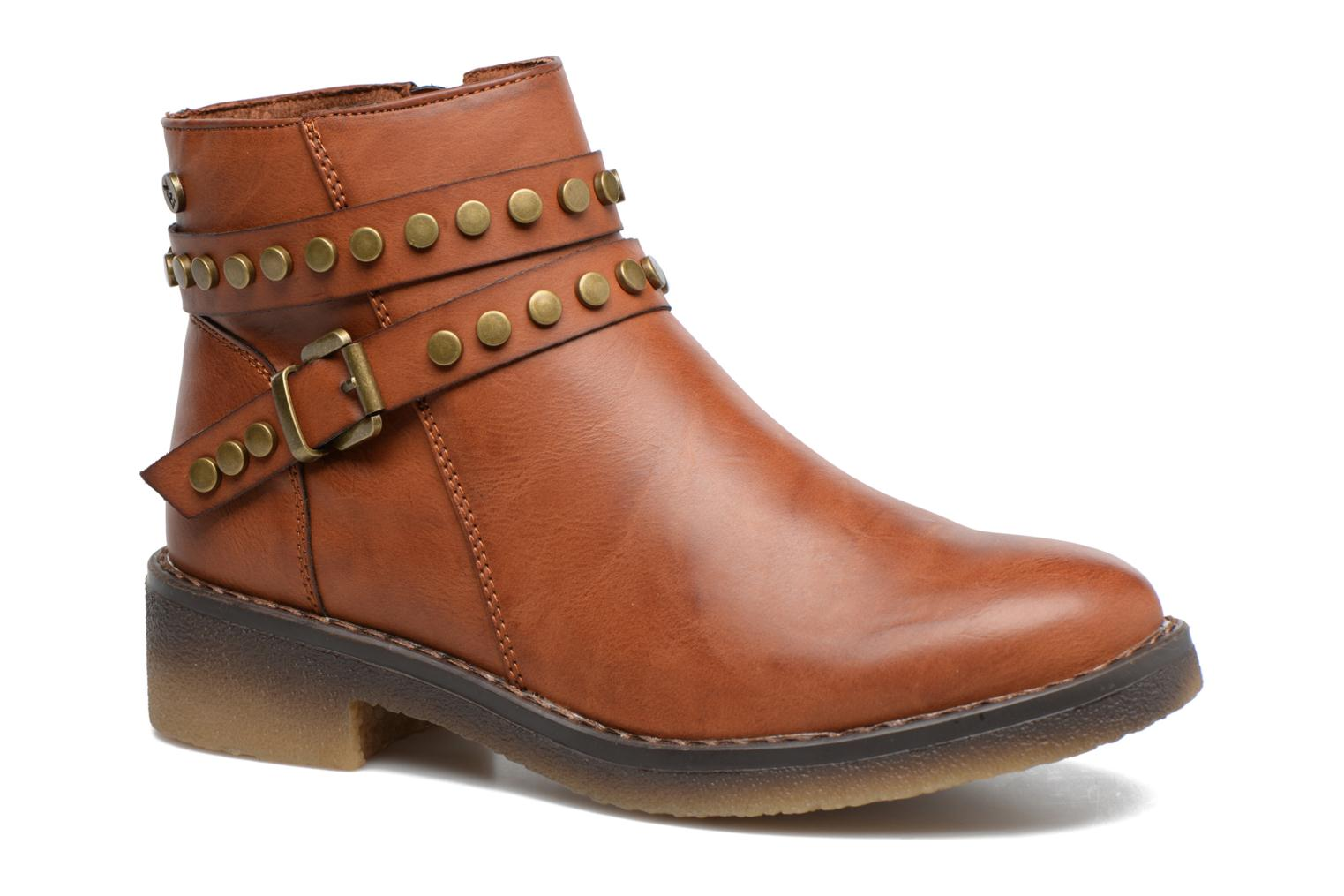 Ankle boots Xti Teki Brown detailed view/ Pair view