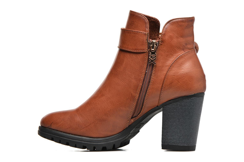 Bottines et boots Xti Oydi Marron vue face