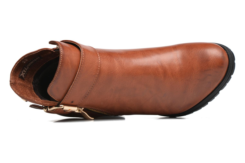 Bottines et boots Xti Oydi Marron vue gauche