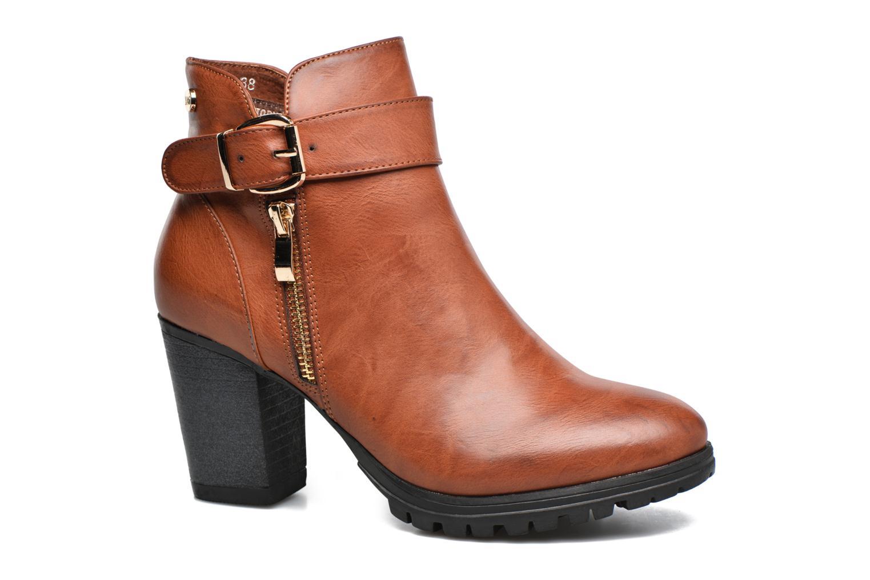 Bottines et boots Xti Oydi Marron vue détail/paire