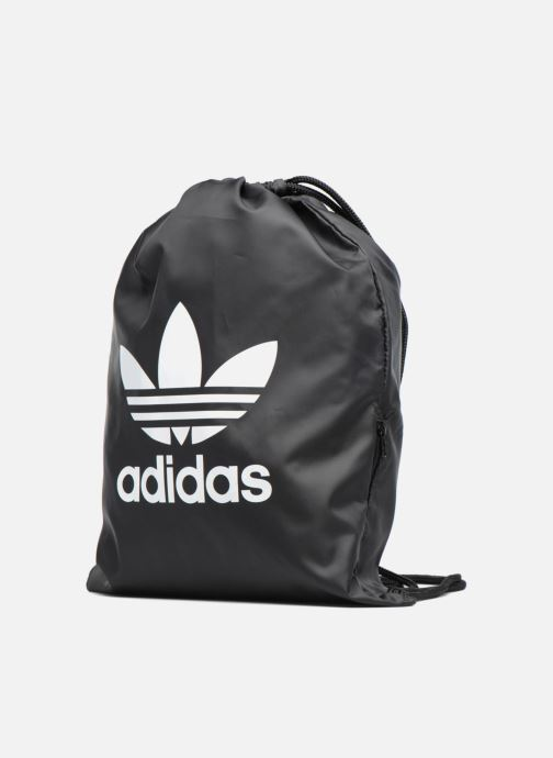 Sportstasker adidas originals Gymsack Trefoil Sort se skoene på