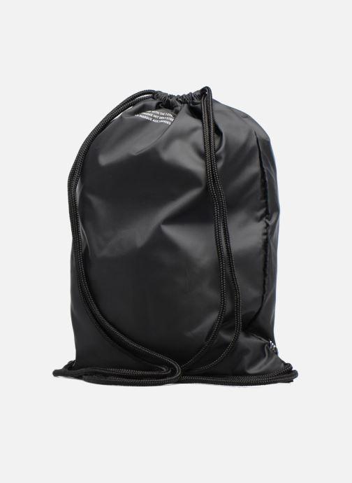 Sporttaschen adidas originals Gymsack Trefoil schwarz ansicht von rechts