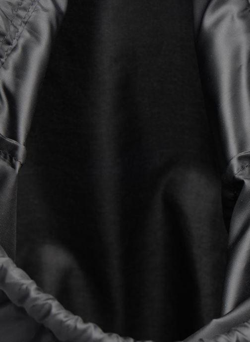 Sporttaschen adidas originals Gymsack Trefoil schwarz ansicht von hinten