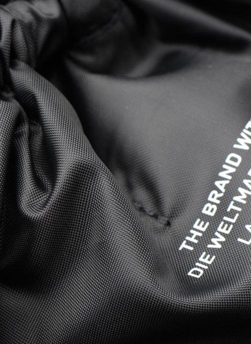 Sporttaschen adidas originals Gymsack Trefoil schwarz ansicht von links