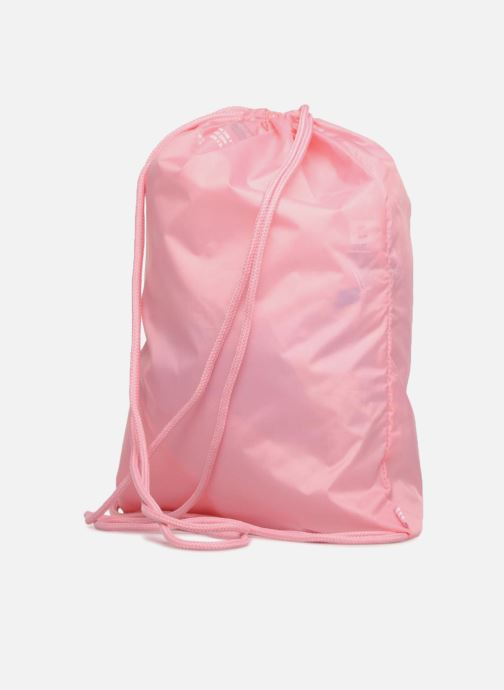 Sports bags adidas originals Gymsack Trefoil Pink view from the right