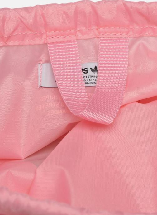 Sporttassen adidas originals Gymsack Trefoil Roze achterkant