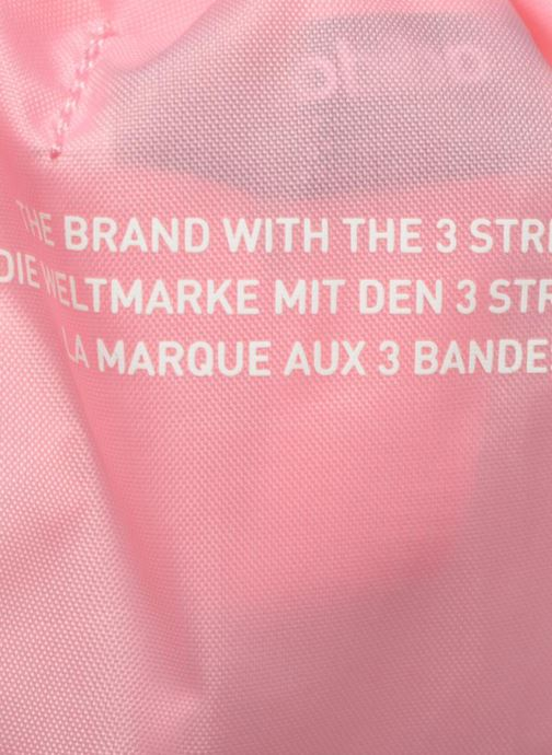 Sports bags adidas originals Gymsack Trefoil Pink view from the left