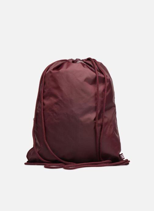 Sports bags adidas originals Gymsack Trefoil Burgundy front view