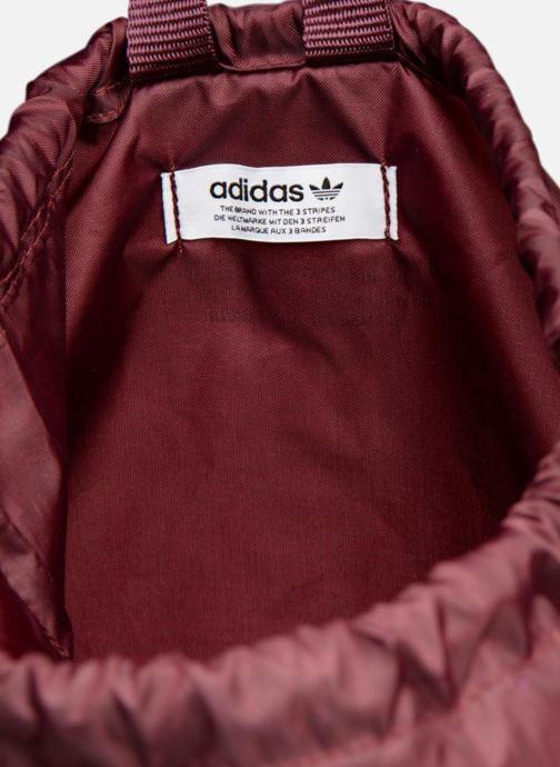 Sporttaschen adidas originals Gymsack Trefoil weinrot ansicht von hinten