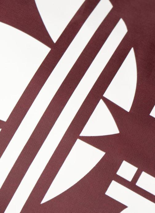 Sacs de sport adidas originals Gymsack Trefoil Bordeaux vue gauche