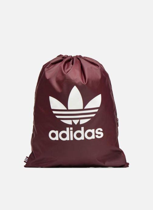 Sports bags adidas originals Gymsack Trefoil Burgundy detailed view/ Pair view