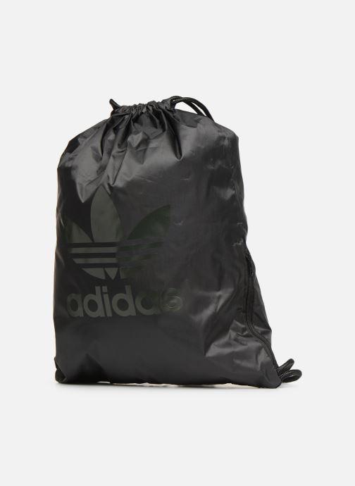Sacs de sport adidas originals Gymsack Trefoil Noir vue portées chaussures