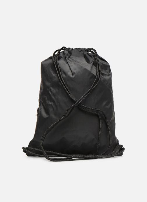 Sporttaschen adidas originals Gymsack Trefoil schwarz ansicht von vorne
