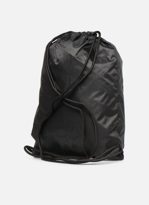 Sacs de sport adidas originals Gymsack Trefoil Noir vue droite