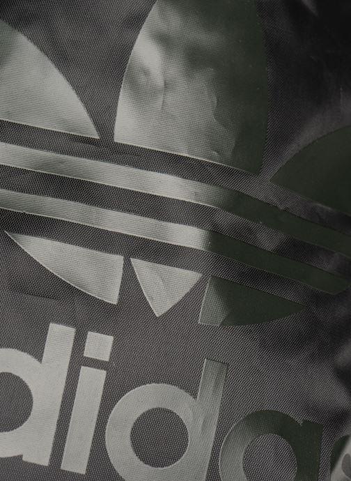 Sporttassen adidas originals Gymsack Trefoil Zwart links