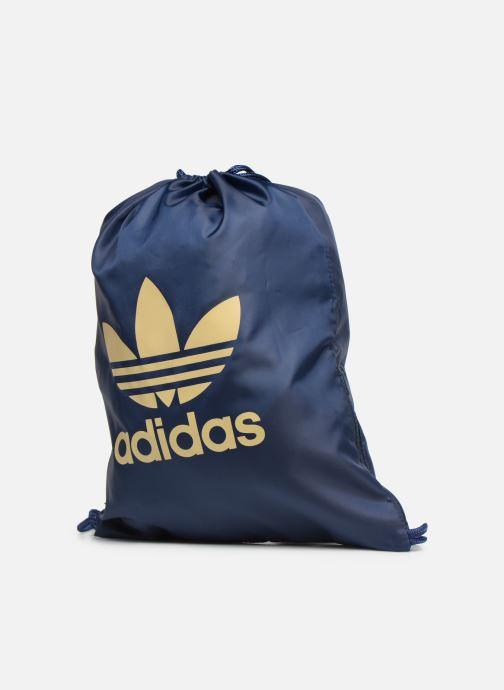Bolsas de deporte adidas originals Gymsack Trefoil Azul vista del modelo