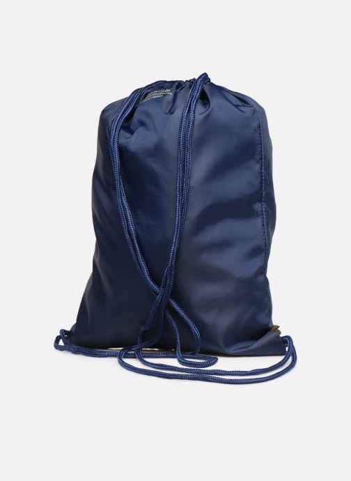 Sporttaschen adidas originals Gymsack Trefoil blau ansicht von rechts