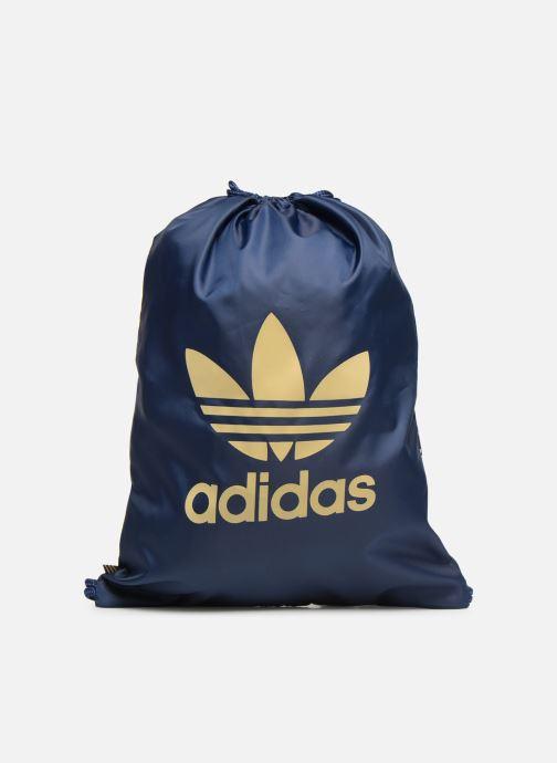 Bolsas de deporte adidas originals Gymsack Trefoil Azul vista de detalle / par