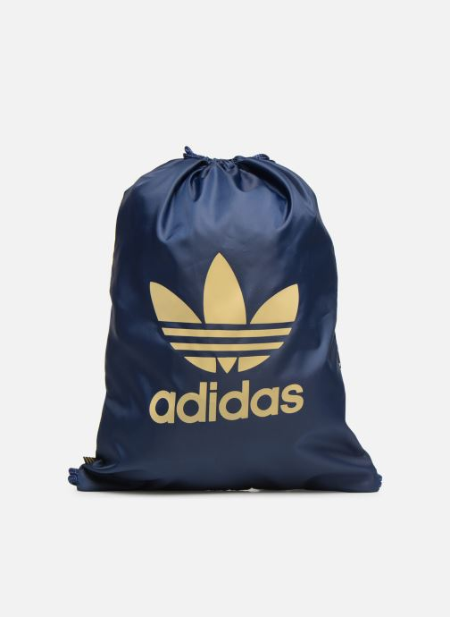 Sports bags adidas originals Gymsack Trefoil Blue detailed view/ Pair view