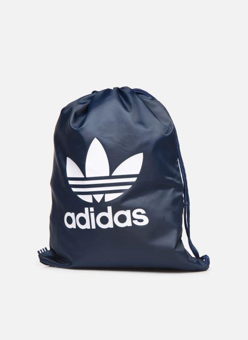 Sporttaschen adidas originals Gymsack Trefoil blau schuhe getragen