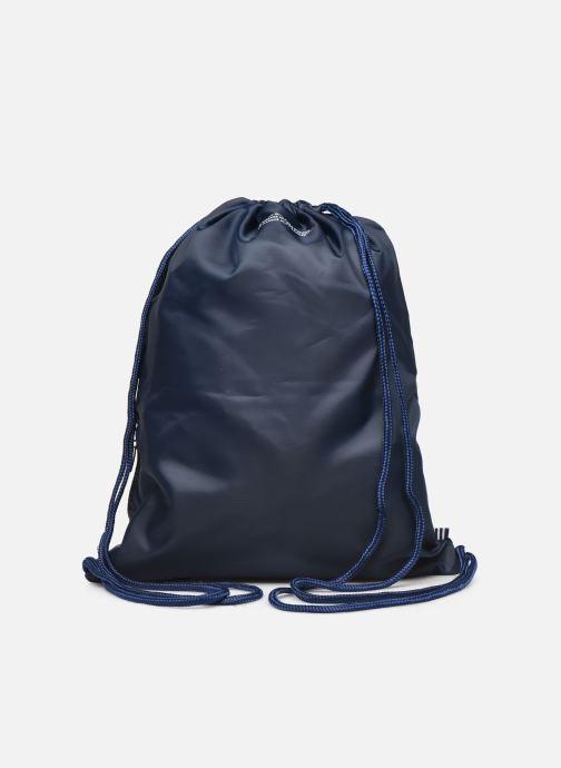 Bolsas de deporte adidas originals Gymsack Trefoil Azul vista de frente