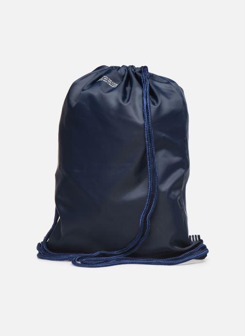 Bolsas de deporte adidas originals Gymsack Trefoil Azul vista lateral derecha