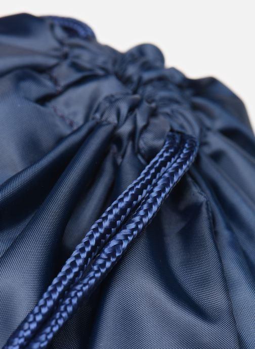 Bolsas de deporte adidas originals Gymsack Trefoil Azul vista lateral izquierda