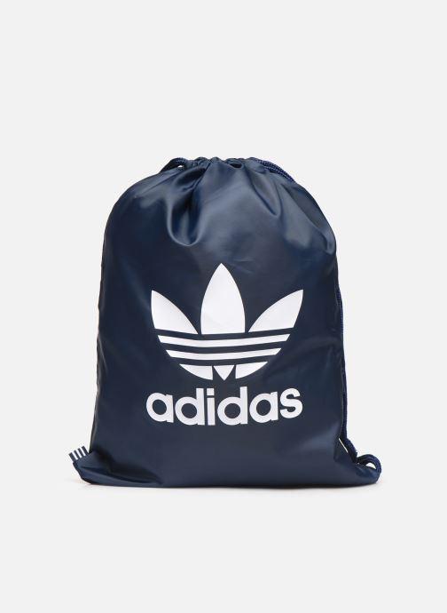 Sporttassen adidas originals Gymsack Trefoil Blauw detail