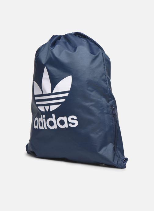 Sporttassen adidas originals Gymsack Trefoil Blauw model