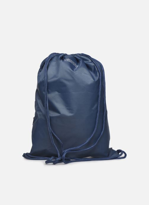 Sporttaschen adidas originals Gymsack Trefoil blau ansicht von vorne