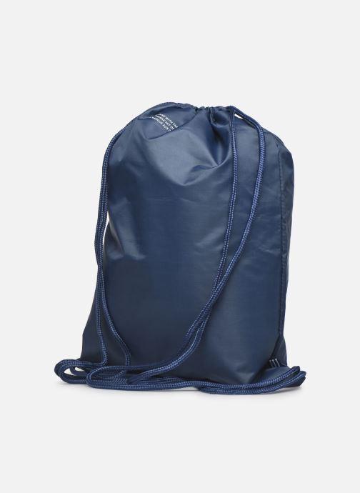 Sporttassen adidas originals Gymsack Trefoil Blauw rechts