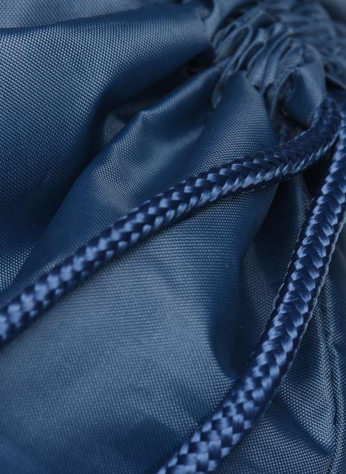 Borsa da palestra adidas originals Gymsack Trefoil Azzurro immagine sinistra