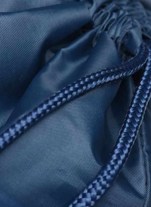 Sacs de sport adidas originals Gymsack Trefoil Bleu vue gauche