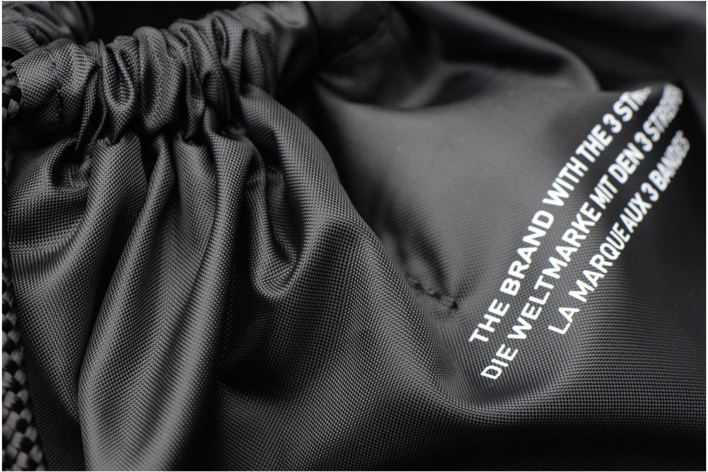 Borsa da palestra Adidas Originals Gymsack Trefoil Nero immagine sinistra