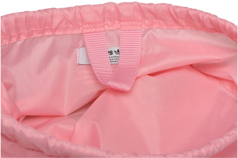 Borsa da palestra Adidas Originals Gymsack Trefoil Rosa immagine posteriore