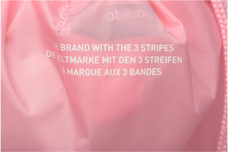Borsa da palestra Adidas Originals Gymsack Trefoil Rosa immagine sinistra