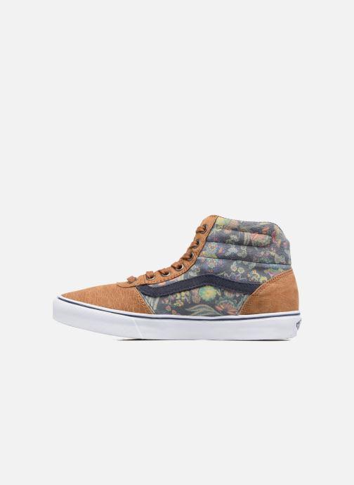 Sneaker Vans Milton Hi W braun ansicht von vorne