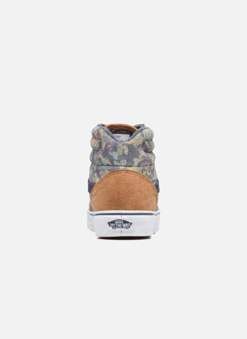 Sneaker Vans Milton Hi W braun ansicht von rechts