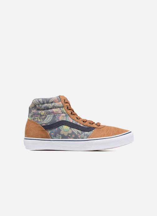 Sneaker Vans Milton Hi W braun ansicht von hinten