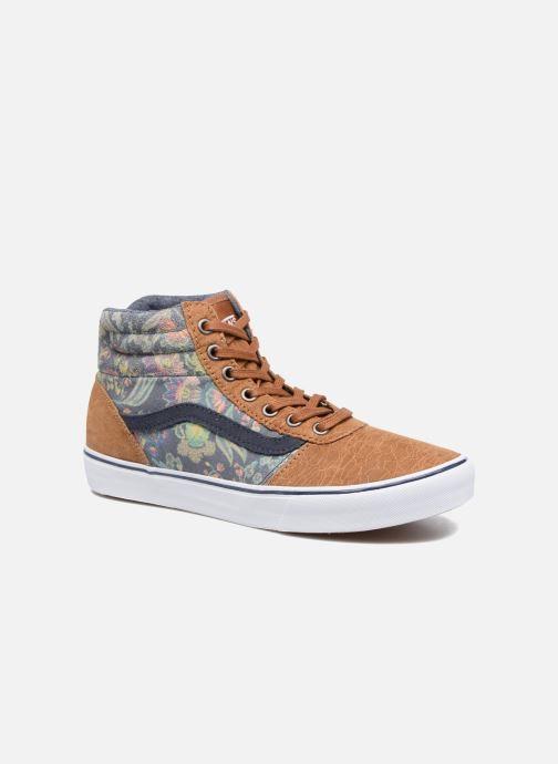 Sneaker Vans Milton Hi W braun detaillierte ansicht/modell