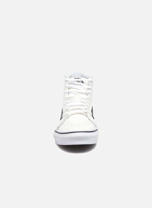 Trainers Vans SK8-Hi Slim Cutou White model view
