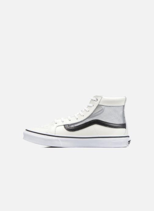 Sneakers Vans SK8-Hi Slim Cutou Wit voorkant