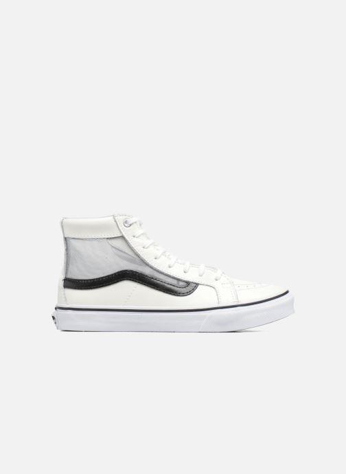 Sneakers Vans SK8-Hi Slim Cutou Wit achterkant