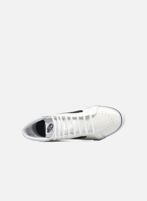 Sneakers Vans SK8-Hi Slim Cutou Wit links