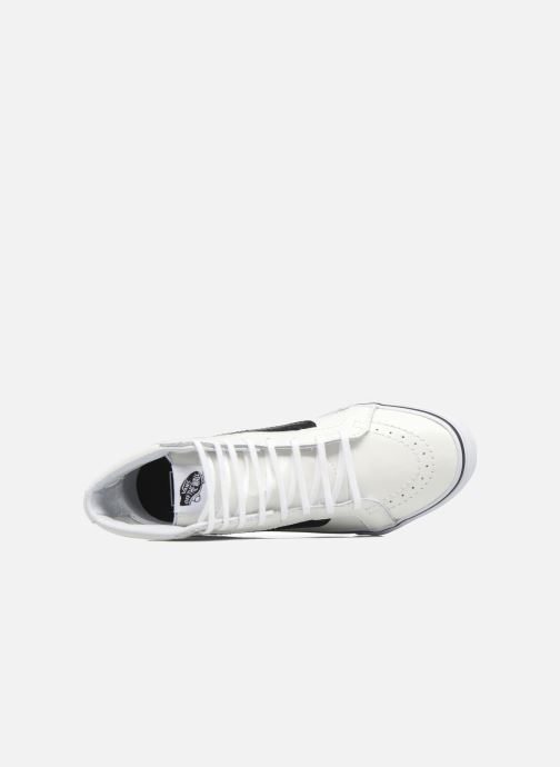 Trainers Vans SK8-Hi Slim Cutou White view from the left