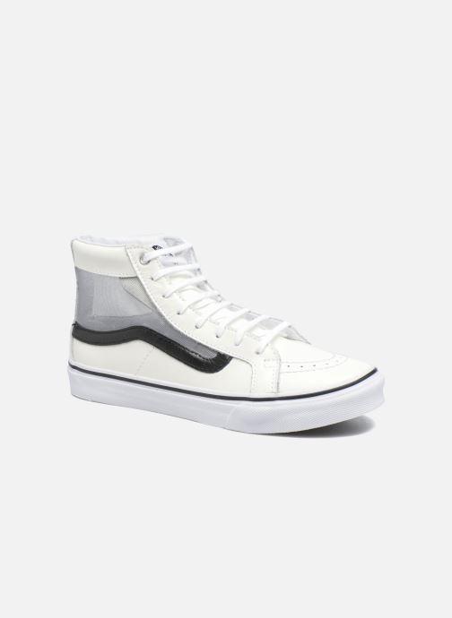 0685d810ee Sneaker Vans SK8-Hi Slim Cutou weiß detaillierte ansicht modell