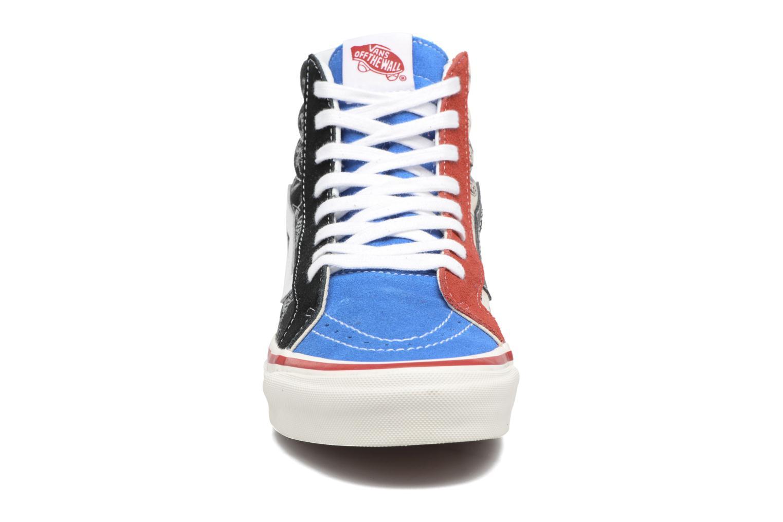 Baskets Vans SK8-HI 38 Reissue Multicolore vue portées chaussures