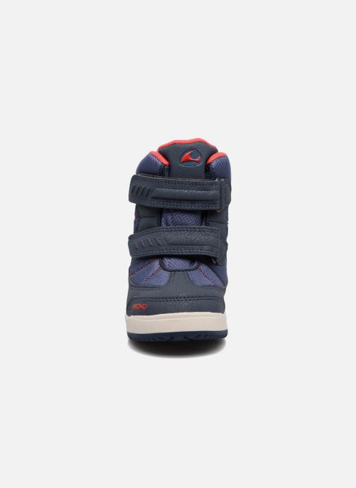 Chaussures de sport Viking Toasty II GTX Bleu vue portées chaussures
