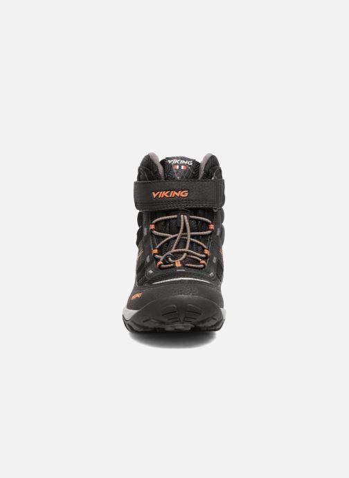 Chaussures de sport Viking Sludd El/Vel GTX Noir vue portées chaussures