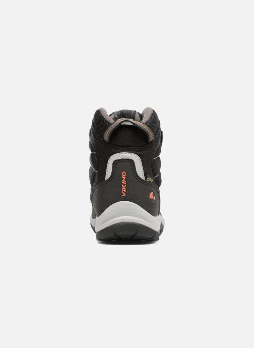 Zapatillas de deporte Viking Sludd El/Vel GTX Negro vista lateral derecha